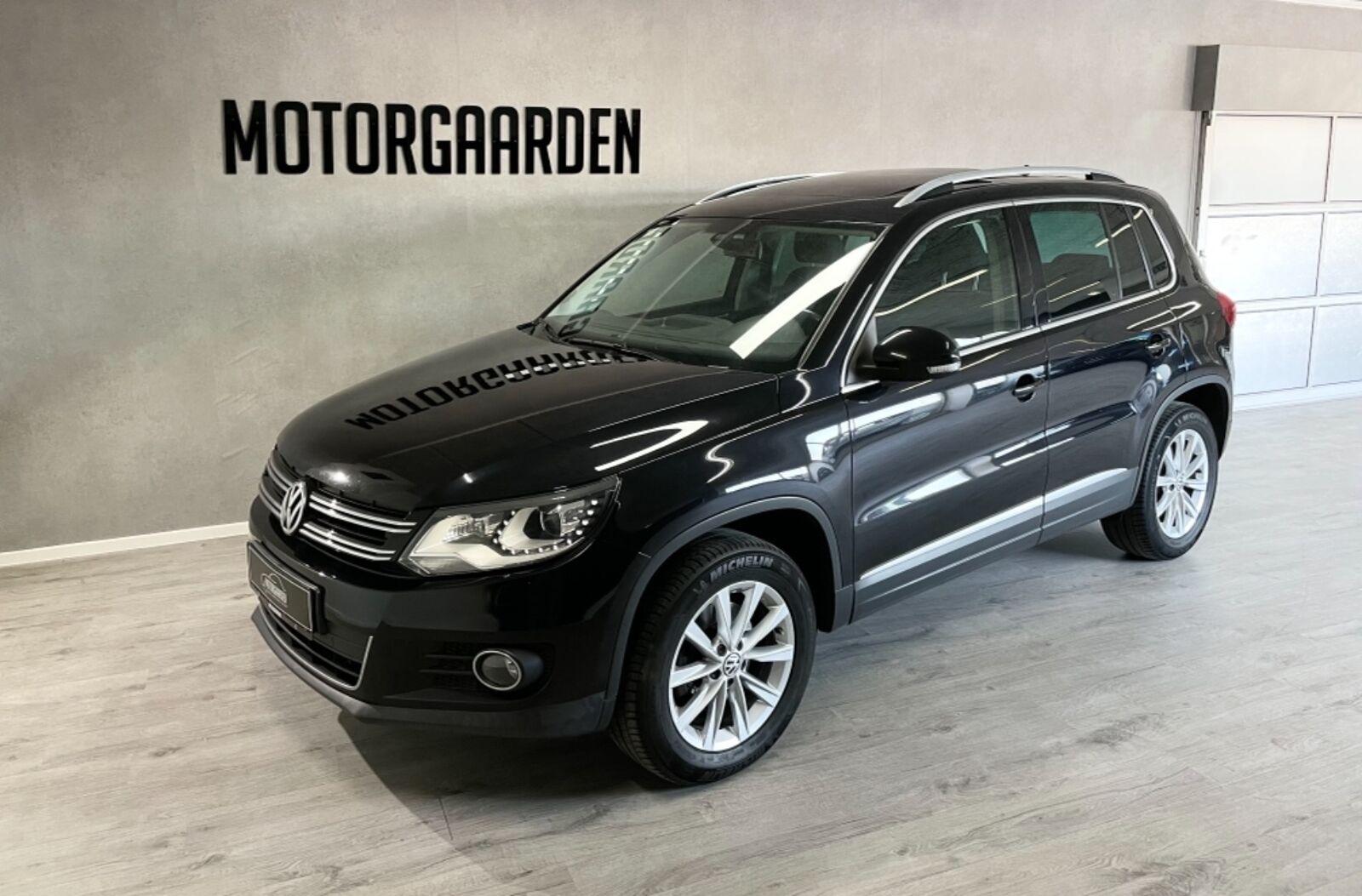 VW Tiguan 2,0 TDi 140 Sport & Style DSG 4M 5d - 149.500 kr.