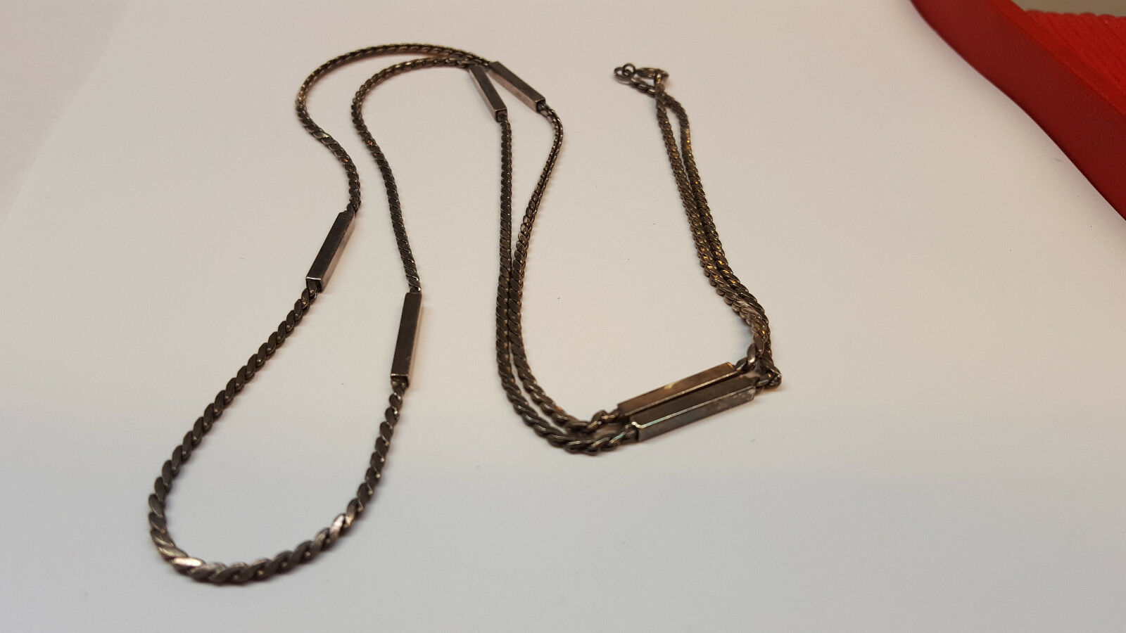 COLLANA COLLIER 835 silver COLLANA silver COLLIER IN silver 90 cm