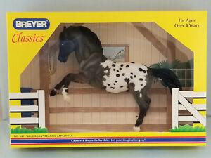 Breyer-681-Classic-Blue-Roan-Appaloosa-Rearing-Stallion-NIB-NICE