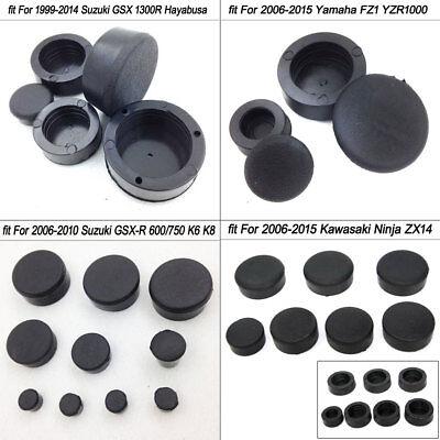 08 GSX-R1000 GSXR1000 covers K7 2007-2008 Fairing Frame Plug Screw Cap 07 Rubber