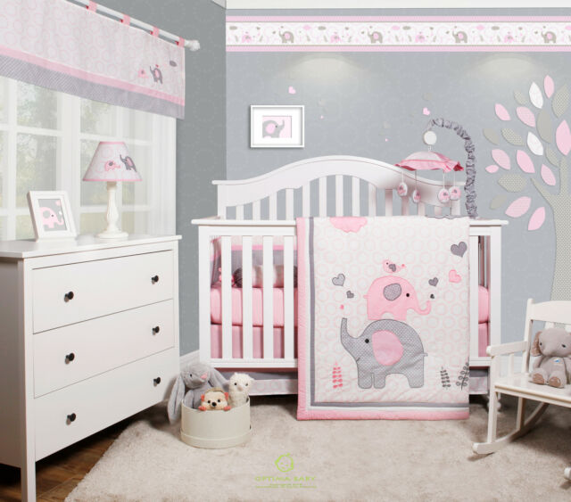Heavenly Soft 6 Piece Crib Bedding Set
