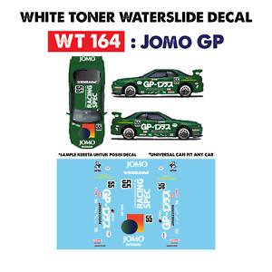 Wt164 White Toner Waterslide Decals Jomo Gp For Custom 1 64 Hot Wheels Ebay