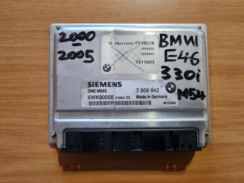 BMW E46 325i M54 2000-2005 Siemens ECU part# DME 7 509 942