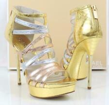 1a41276170c1 item 2 Michael Kors Maddie Dress Platform High Heels Sandals Rose Gold  Multi Size 9 -Michael Kors Maddie Dress Platform High Heels Sandals Rose  Gold Multi ...