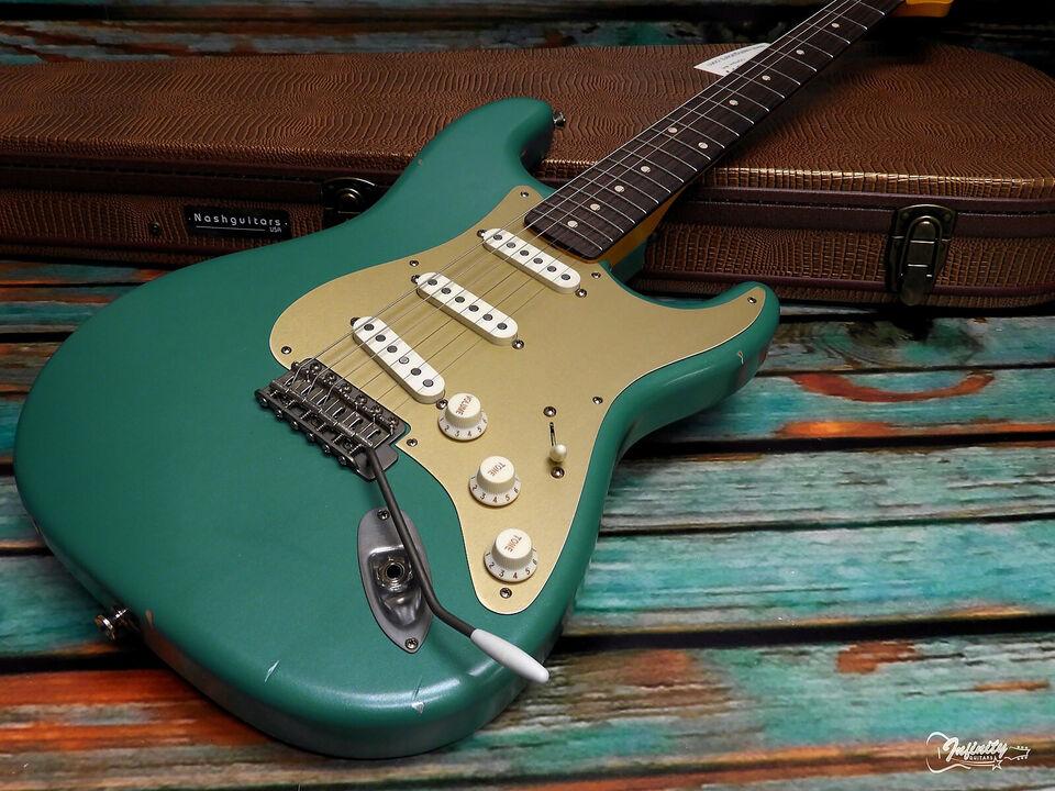 Fender Custom Shop Stratocaster 65 i Sherwood G...