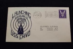Naval-Housse-Guerre-Mondiale-2-1945-Machine-Cancel-Lancement-Uss-Chivo-SS-341