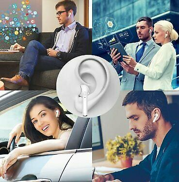 i7 TWS Bluetooth Twin Earbuds with built-in MIC  compatible with IOS and Android devices with Dock