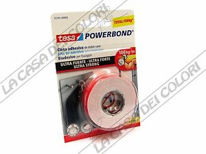 Tesa powerbond ultrastrong nastro biadesivo ultra forte 19 mm