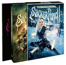 Sucker Punch Steelbook Hdzeta Gold Exclusive Baby Doll Lenticular Very RARE OOP