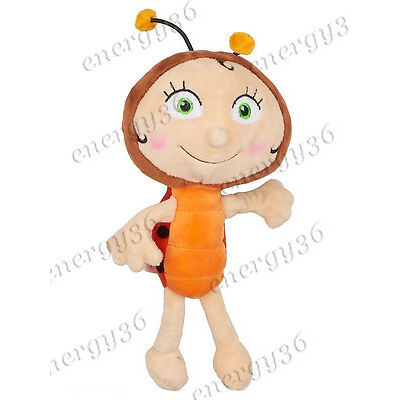 "Talking Soft toy Ladybird ""Lara"" 22 cm from the cartoon ""Bee Maya"" (Пчелка Майя)"