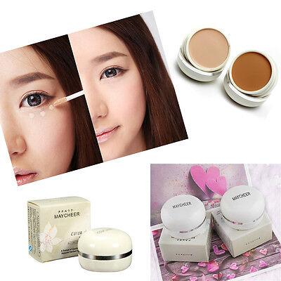 Makeup Concealer Foundation Party Contour Face Cream Cover Black Eyes Acne Scars