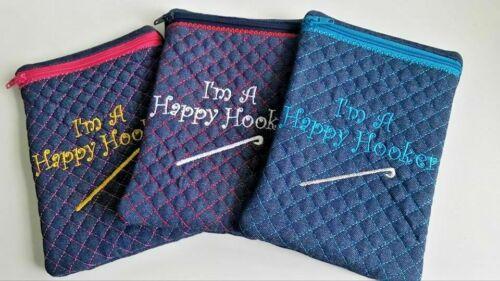 Crochet hook storage case
