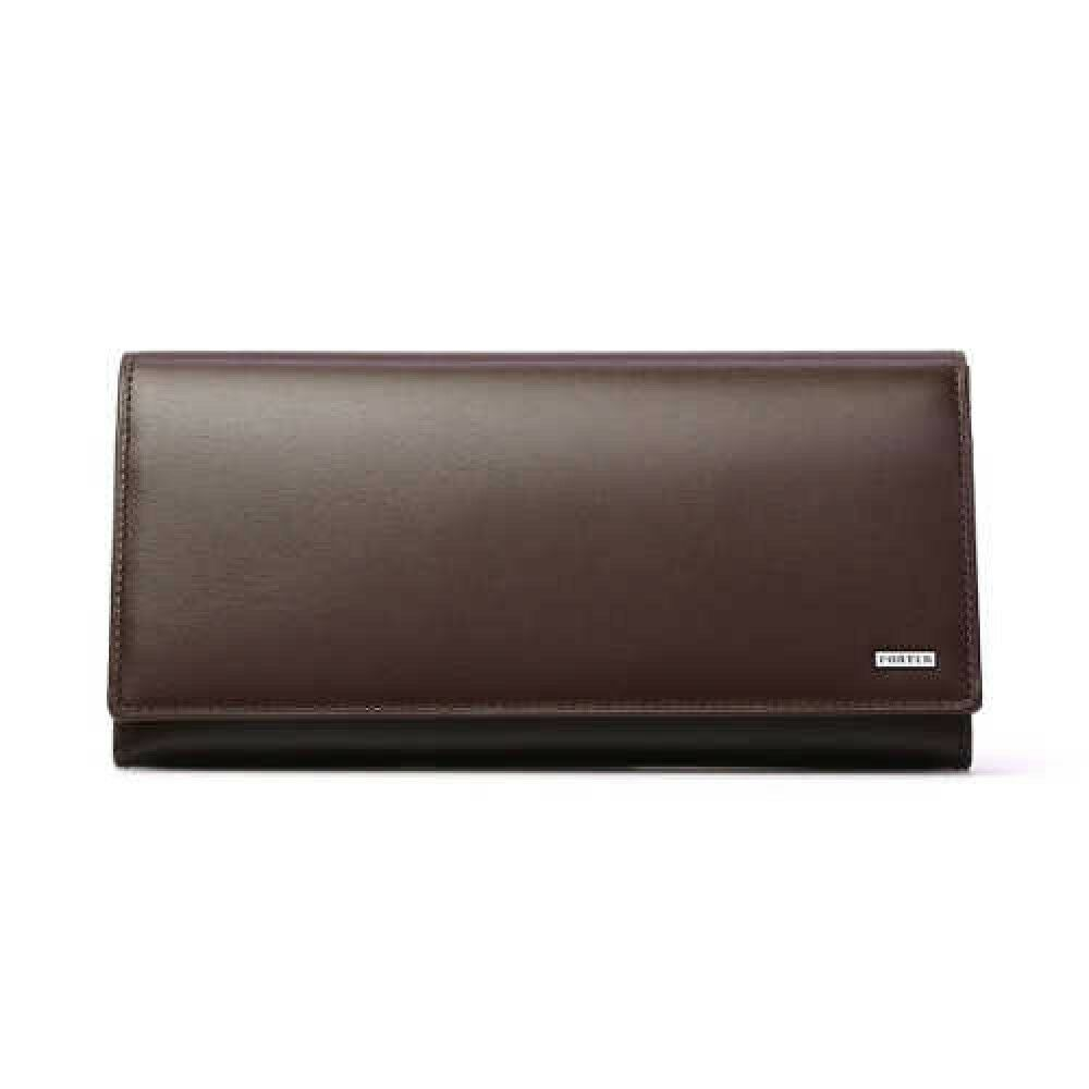 PORTER Yoshida Bag 110-02918 Breast Wallet Brown SHEEN From Japan with Tracking