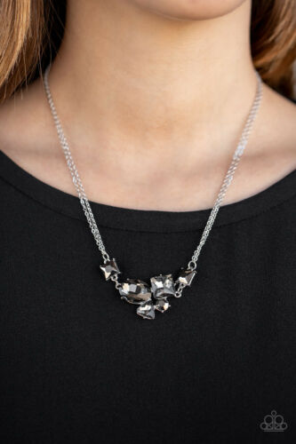 Silver Paparazzi Necklace ~ Constellation Collection