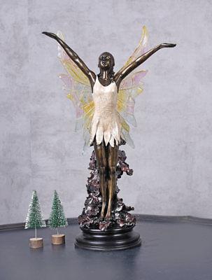 Kindermöbel & Wohnen Energisch Tischleuchte Lampe Frauenfigur Elfenfigur Tischlampe Dekolampe Nachttischlampe