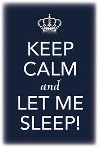 Keep-Calm-And-Let-Me-Sleep-Panneau-Metallique-Plaque-Voute-en-Etain-20-X-30-CM
