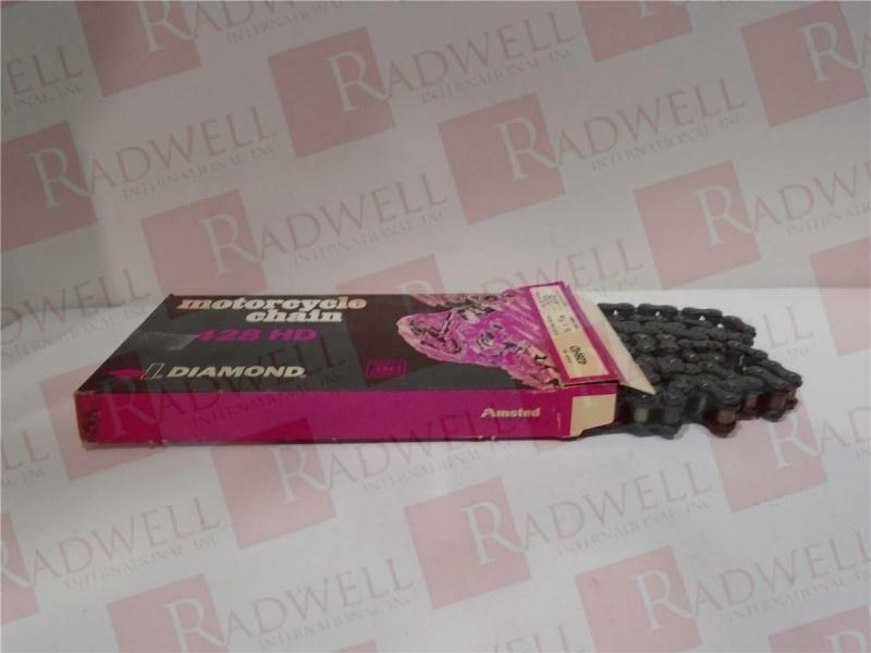 DIAMOND CHAIN 428HD-108   428HD108 (NEW IN BOX)
