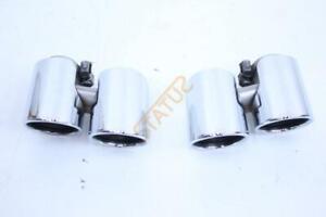 Porsche-911-991-Exhaust-Tailpipe-Tips-Chrome-NEW-9911146505