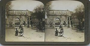 Roma-Italia-Foto-Stereo-Vintage-Analogica-1901