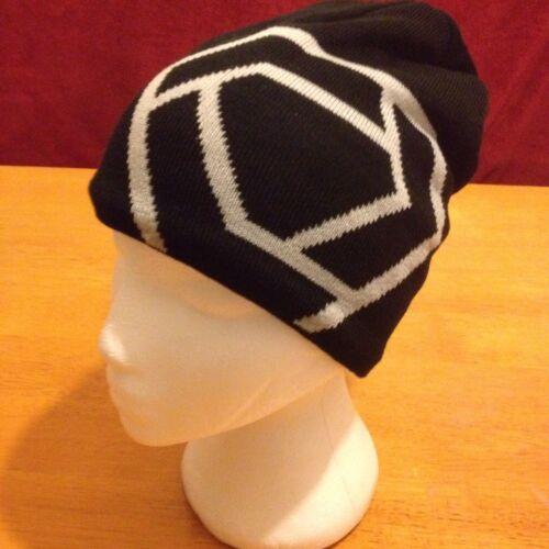 BNWT Verge Sport America Knitted Black Beanie Hat Size 59cm