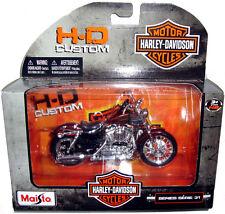 Maisto Harley Davidson 2012 XL 1200V Seventy-Two Die-Cast Motorcycle MIB 1:18