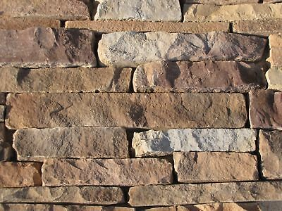 32 LEDGESTONE CONCRETE STONE VENEER MOLDS MAKE 1000s OF WALL STONES FOR PENNIES