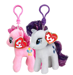 16d60f1acda Lot 2 My Little Pony Pinkie Pie Rarity Ty Sparkle Beanie Babies 4.5 ...