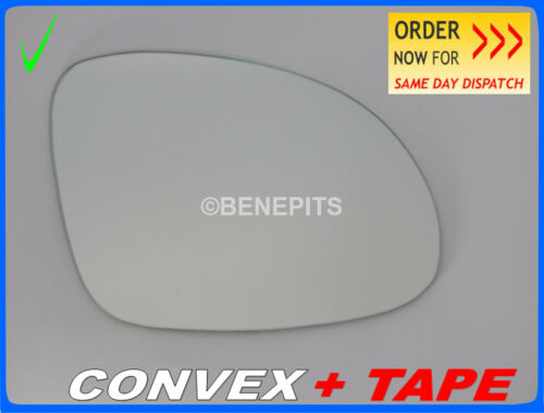 TAPE Right Side //1057 //309 For VW TIGUAN 2007-2015 Wing Mirror Glass CONVEX