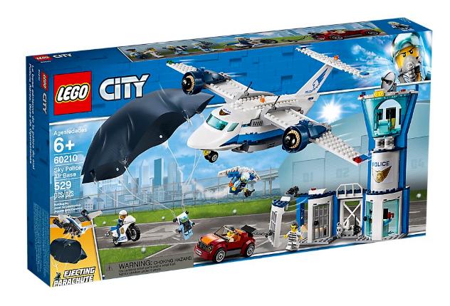 Lego City 60210 Sky Police Base aérienne  NOUVEAU