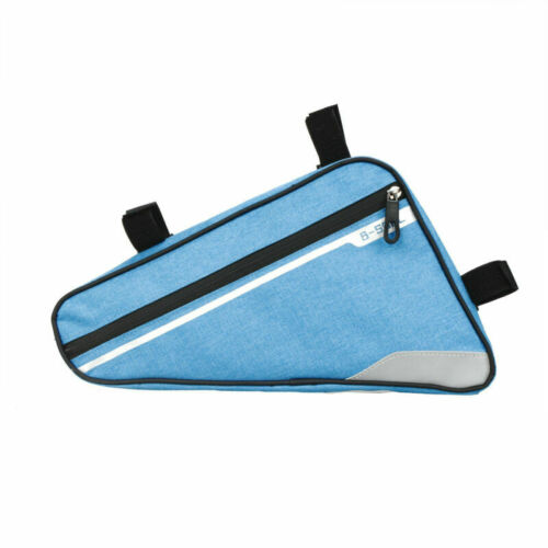 Bike Cycling Front Tube Frame Bag Triangle Pouch Waterproof Phone Bicycle Bag