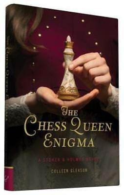 The Chess Queen Enigma By Colleen Gleason Used border=