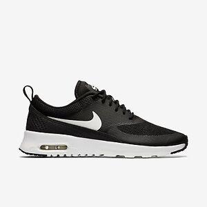 599409-020 Women's Nike Air Max Thea Shoe!! BLACK/SUMMIT WHITE!!