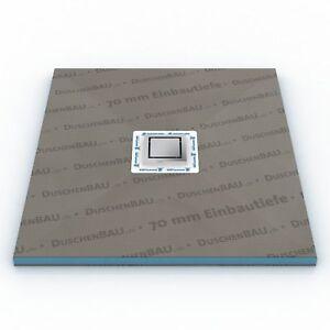 Duschelement-Plan-Tap-nur-70-mm-flach-befliesbar-bodeneben-Duschboard-Duschtasse