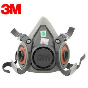 Fire Respirators 3m 6200 Half Facepiece Respirator Medium Size Painting Spraying Face Gas Mask Back To Search Resultssecurity & Protection