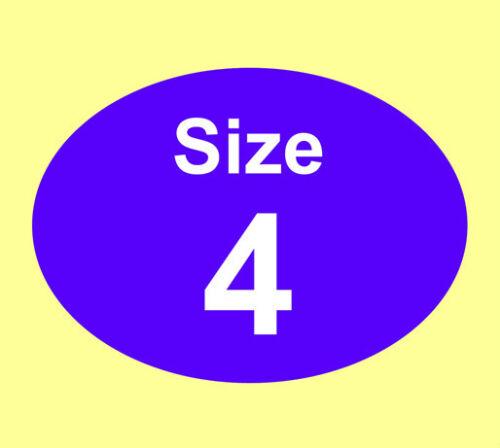 Colorato donna vestito abiti dimensioni adesivi-etichette Permanenti-IDEALE PER STAFFE