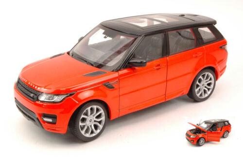 Black 1:24 Model 4059OR WELLY Range Rover Sport 2014 Orange