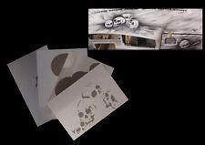 Airbrush Schablonen Set Schädel 2