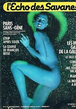 L'echo Des Savanes N°9 10  Paris sans gene Strip apres soleil Francois besse Mi