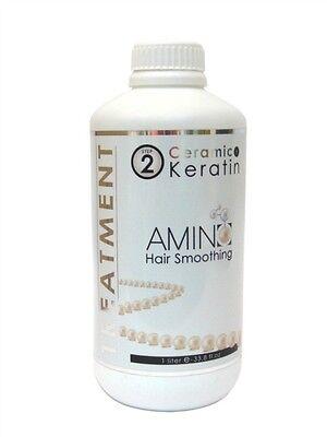 Kashmir Ceramic Keratin Hair Smoothing Therapy - 1 Liter - 33.8 oz