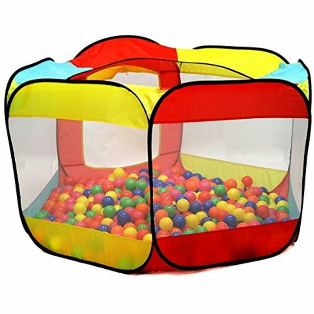 on sale 604d5 ea233 Play Tent Kids 6 Sided Playhouse Children House Garden Indoor Outdoor Ball  Pit