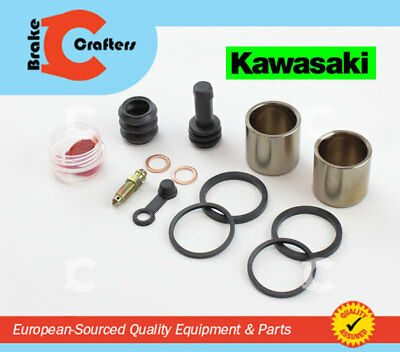 2006 to 2008 Kawasaki ER6F Front Brake Caliper Piston Seals Pin Repair Kit x 2