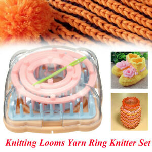 Details about Flower Knitting Loom Wool Yarn Needle Crochet Craft Daisy  Pattern Maker Knitter