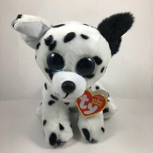 Ty Beanie Babies 6 Catcher Dalmatian Dog Plush Stuffed Animal Toy W Heart Tags 8421423033 Ebay
