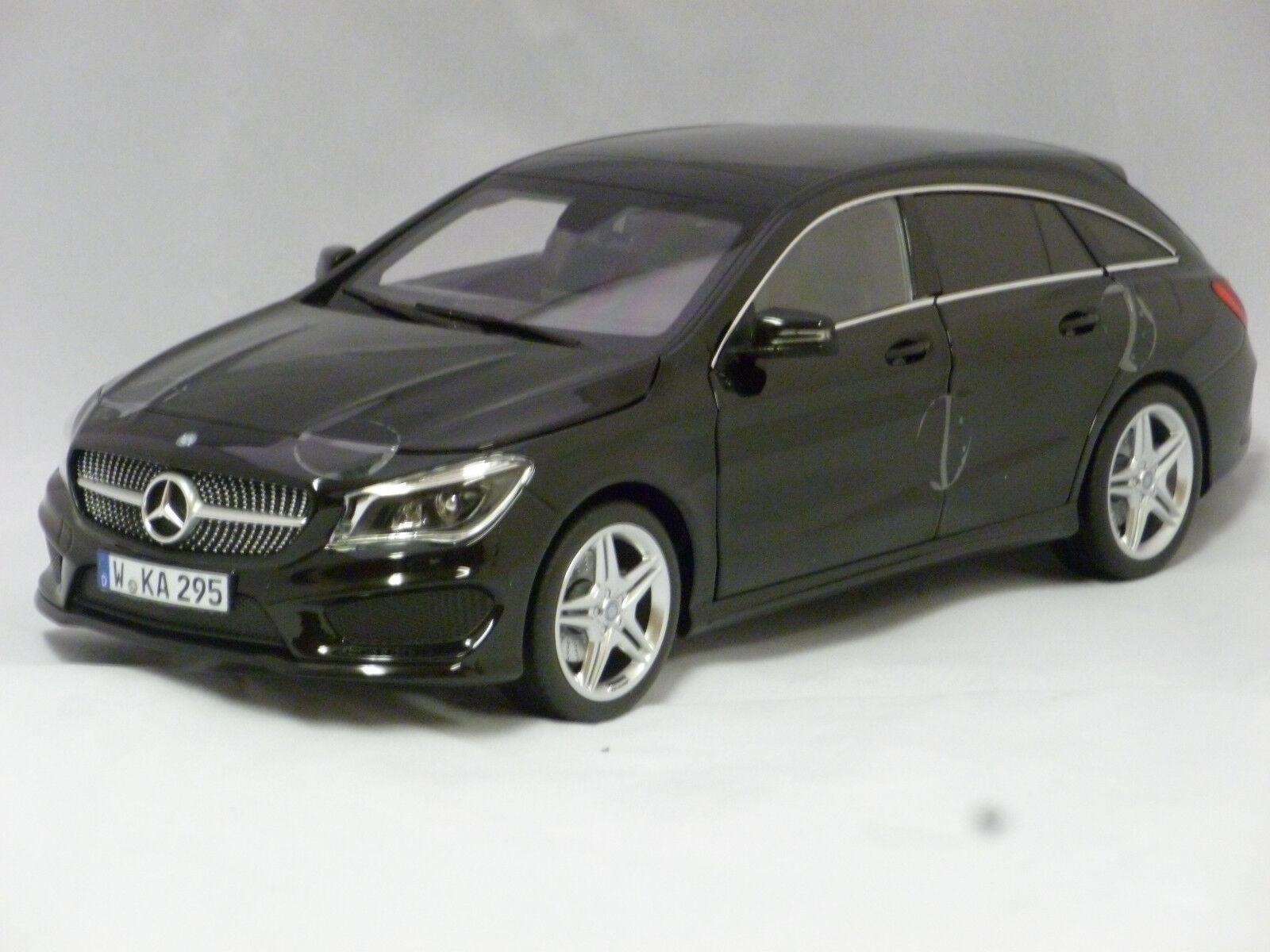 Norev 1 18 2015 Mercedes-Benz CLA Freno de disparo-Negro-NV183598