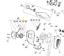 Mountfield MHJ2424 démarreur poulie 123604013//0 Authentique pièce de remplacement