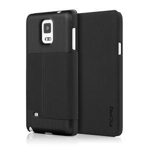 Incipio Highland Thin Premium Folio Case for Samsung Galaxy Note 4 - Black