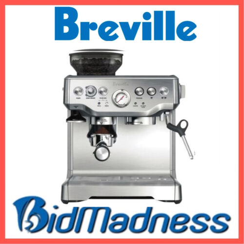1 of 1 - NEW BREVILLE BES870BSS the BARISTA EXPRESS™ COFFEE MACHINE  2 LITRE  2 YRS WNTY