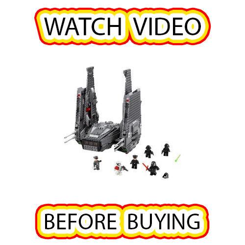 Lego Kylo REN's Comhommed navette  Set  75104 Star Wars Star Wars Episode 7  qualité garantie