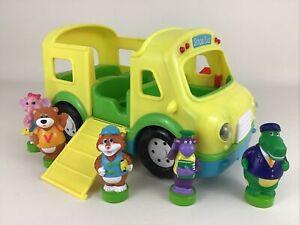 Baby Genius Sing Along School Bus Playset 6pc Lot Vehicle ...
