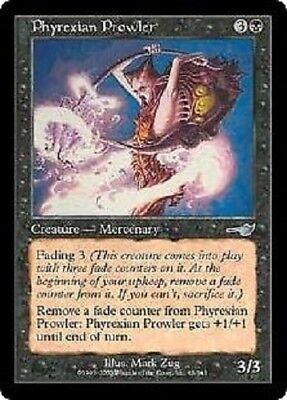 4x Phyrexian Prowler MTG Nemesis NM Magic Regular